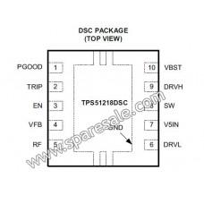 PIZI TPS51218 TPS51218DSCR