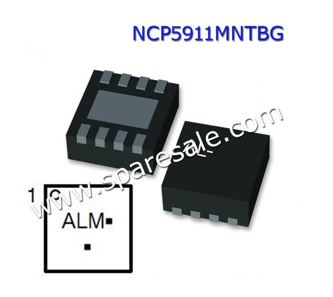NCP5911MNTBG NCP5911 ( AL* ) AL1, AL2,  AL3,  AL6,  AL7,  ALX ,  AL4,  AL9,  AL5