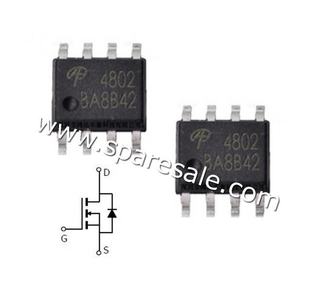 MOSFET AO4802 4802