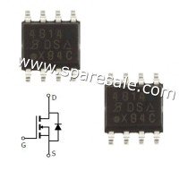 MOSFET 4814 IC