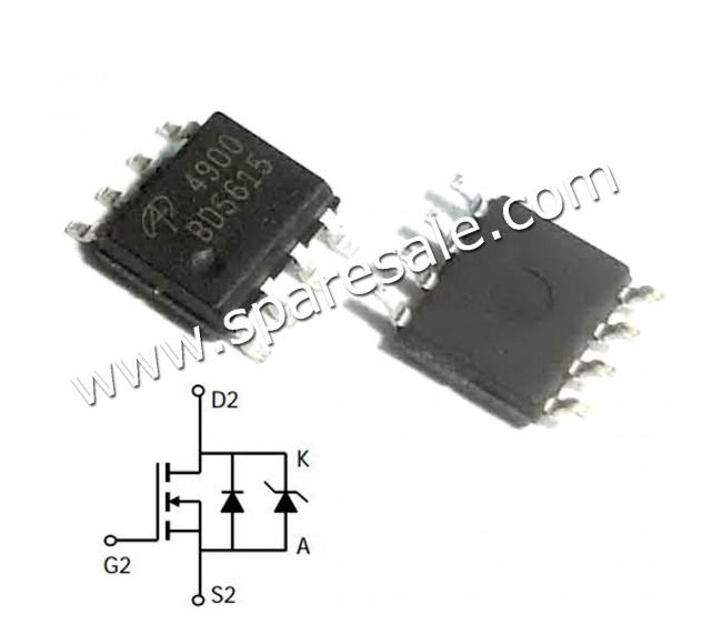 MOSFET AO4900 4900