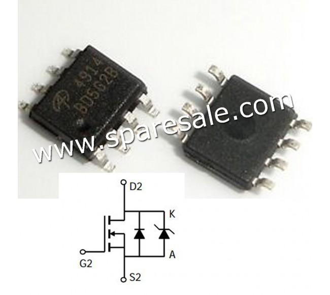 MOSFET AO4914 4914