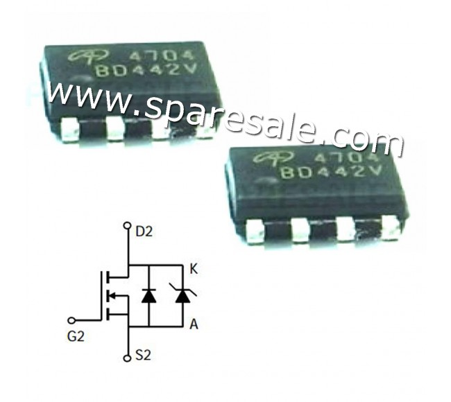MOSFET AO4704 4704