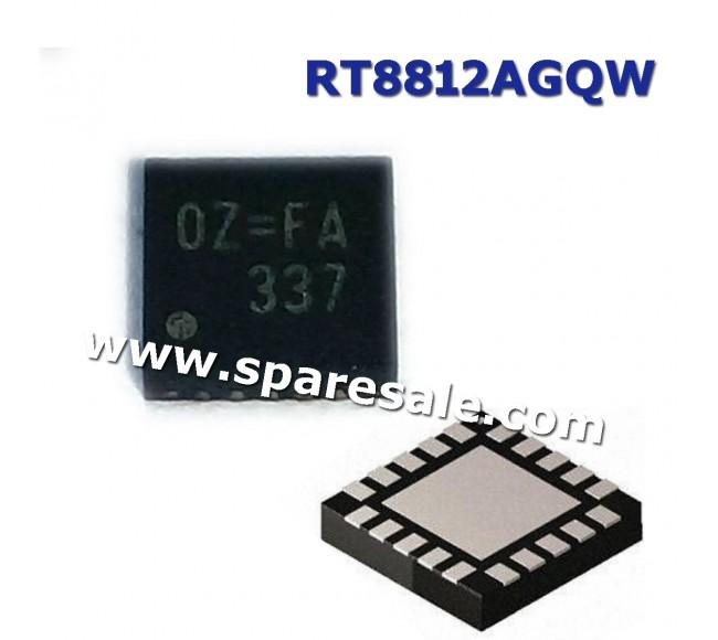0Z=FC, 0Z=ED, 0Z= , RT8812AGQW RT8812A