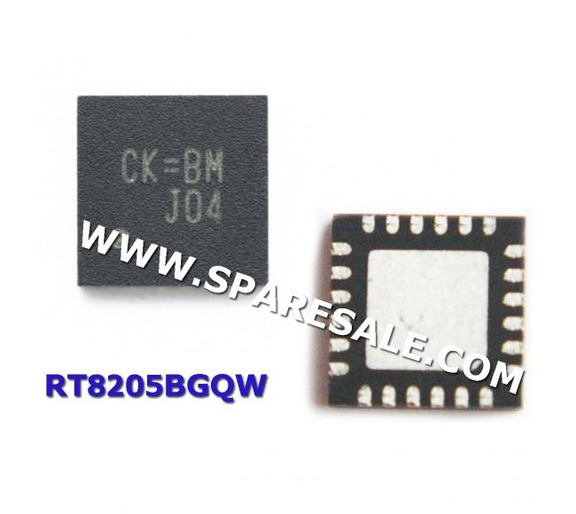 CK=EM, CK=CM, CK= , RT8205BGQW RT8205B