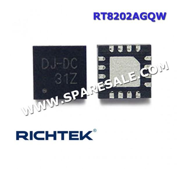 RT8202AGQW RT8202A RT8202 ( DJ= )