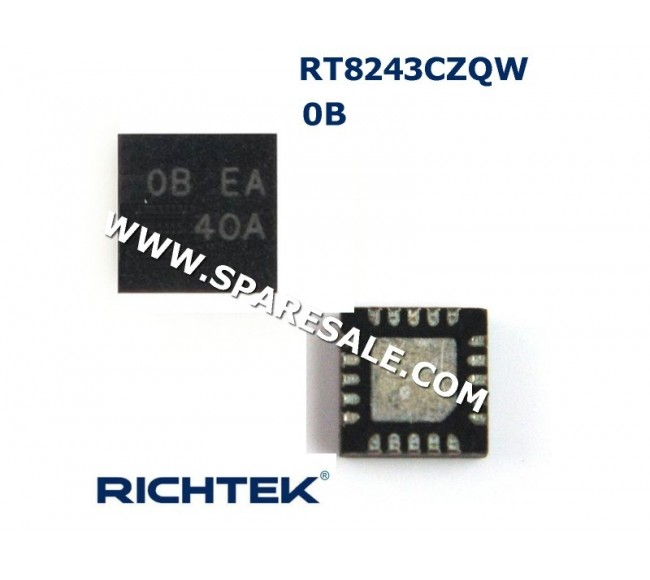 0B , 0B EA, RT8243CZQW RT8243C IC