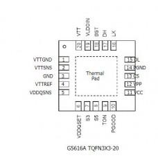 G5616ARZ1U G5616A 5616A G5616 20QFN