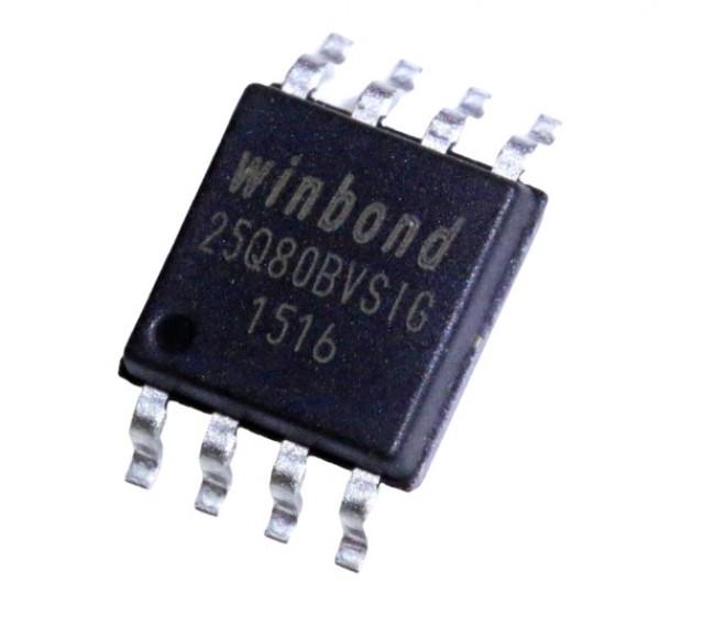 Winbond W25Q80BVSIG W25Q80BV 25Q80BV Ic