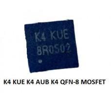 K4 KUE K4 AUB K4 QFN-8 MOSFET