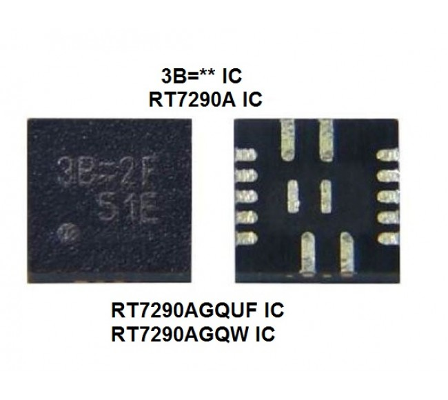 RT7290AGQUF RT7290AGQW RT7290A ( 3B=** ) IC