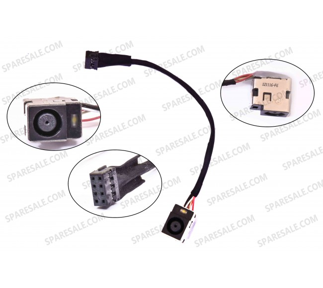 DC Jack For HP G6-2000 G6-2213EA G7-2000 DM4-3000
