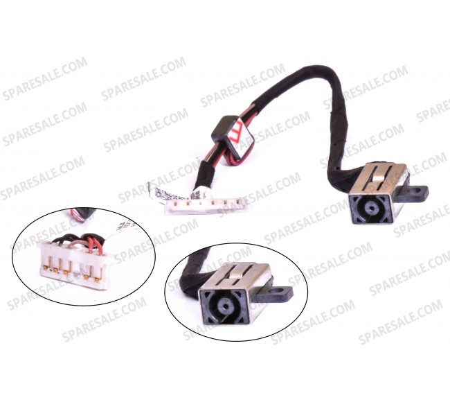 Dc jack for dell inspiron 15-5558 15-5000 15-5555